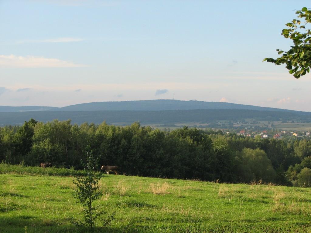 Góry Świętokrzyskie - Łysiec vel Łysa Góra