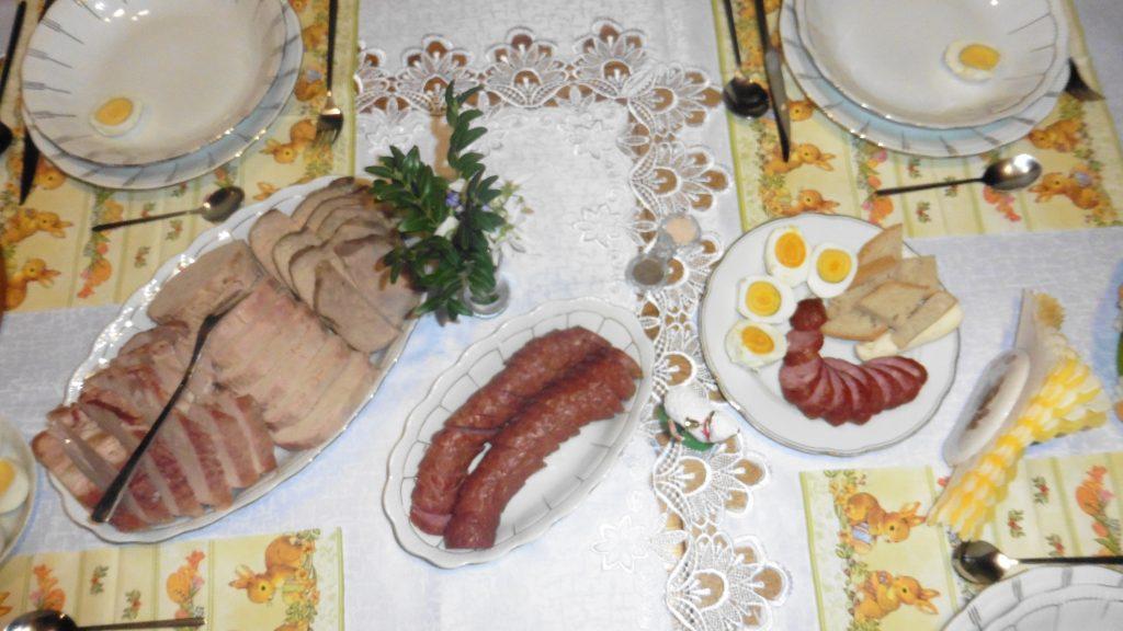 Wielkanoc - śniadanie