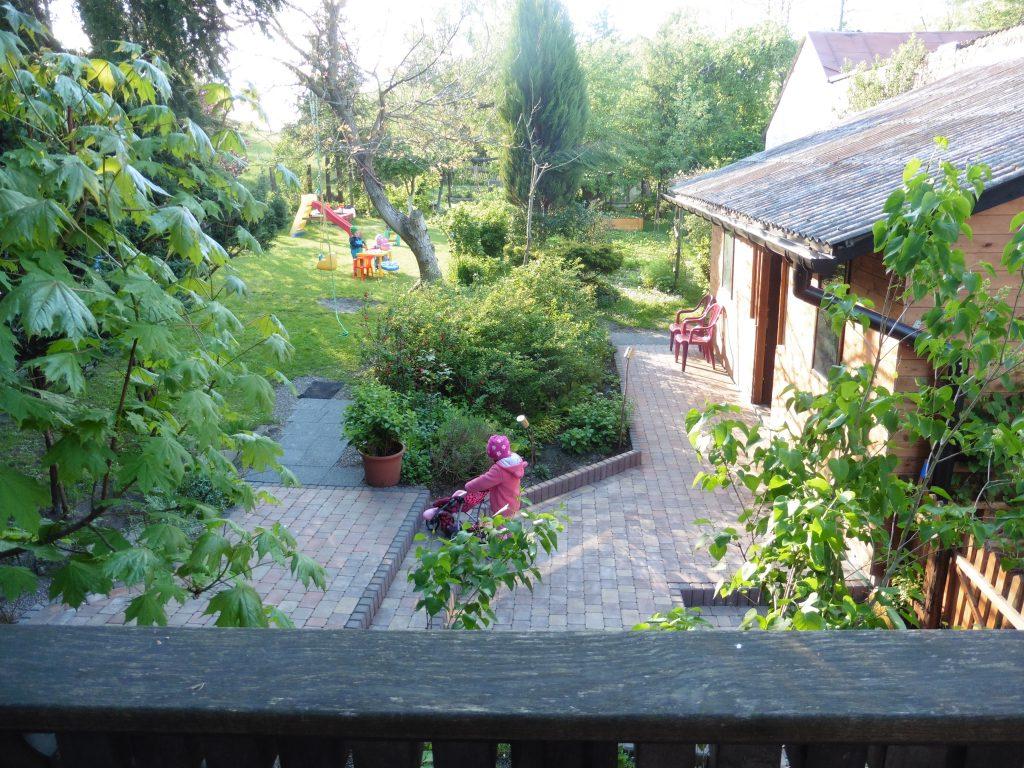 Rodziny z dziećmi- ogród